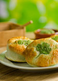 Shamrock Green Biscuits Stock Images