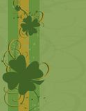 Shamrock Grunge Royalty Free Stock Photography
