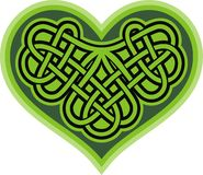 Shamrock heart. Celtic symbol Royalty Free Stock Photography