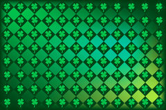Shamrock Irish Argyle vector illustration