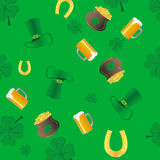 Shamrock Irish pattern Royalty Free Stock Image