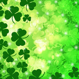 Shamrock Leaf Bokeh Stock Images