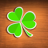 Shamrock leave background Royalty Free Stock Photo