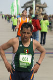 Shamrock Marathon Finish Line Royalty Free Stock Images