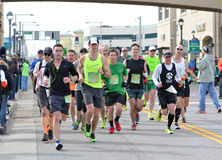 Shamrock Marathon Stock Photography