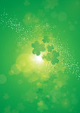 Shamrock nebula Stock Photography