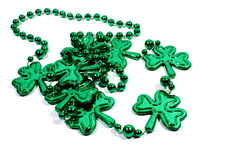 Shamrock Necklace Royalty Free Stock Photography