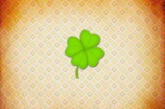 Shamrock Paper Royalty Free Stock Photo