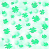 Shamrock party paper Royalty Free Stock Image