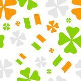 Shamrock pattern Royalty Free Stock Photo