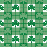 Shamrock Pattern Royalty Free Stock Image