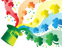 Shamrock Rainbow Royalty Free Stock Image