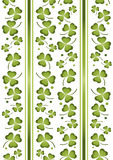 Shamrock repeat 3 Stock Photography
