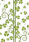Shamrock repeat 5 Stock Photos