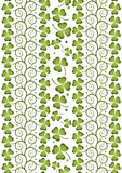 Shamrock repeat 2 Royalty Free Stock Image