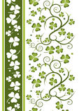 Shamrock repeat 4 Royalty Free Stock Photos