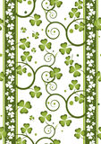 Shamrock repeat 6 Stock Photo