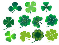 Shamrock Set Royalty Free Stock Photos