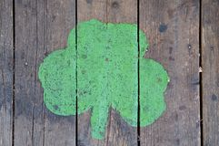 Shamrock sign Royalty Free Stock Photography