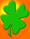 Shamrock Royalty Free Stock Photography