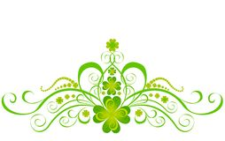 Shamrock for St.Patrick's Day. Vector Royalty Free Stock Photos