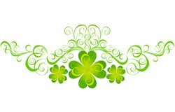 Shamrock for St.Patrick's Day. Vector Royalty Free Stock Images