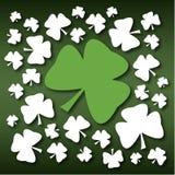 Shamrock St. Patricks Tages vektor abbildung