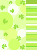 Shamrock and stripes Royalty Free Stock Photography