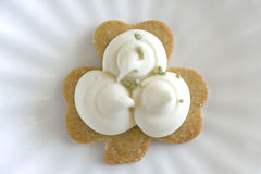 Shamrock Sugar Cookie Stock Photography