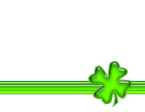 Shamrock Template Background Stock Images