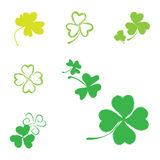 Shamrock Vector Icon For St. Patrick Day Stock Photo