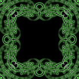 Shamrock Vine Frame Stock Photo
