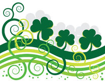 Shamrock Wave Royalty Free Stock Photography