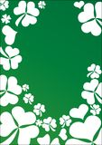 Shamrocks background Royalty Free Stock Photo