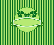 Shamrocks banner Royalty Free Stock Photography