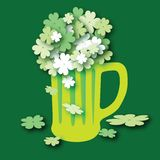 Shamrocks Bouquet Royalty Free Stock Photos
