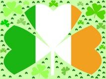 Shamrocks do dia do St Patricks Foto de Stock