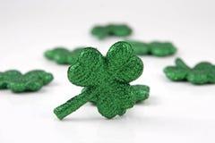 Shamrocks irlandeses Foto de Stock Royalty Free