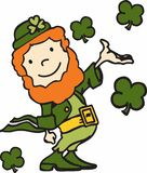 Shamrocks Leprechaun Stock Photos