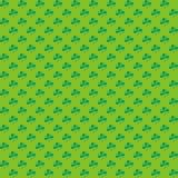 Shamrocks pattern Stock Images