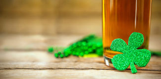 Shamrocks st patrick day. Green shamrocks st patrick day Stock Photo