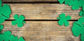 Shamrocks st patrick day. Green shamrocks st patrick day Royalty Free Stock Images