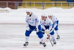 Shamsutov Rinat, Mossberg Daniel and Maksimov Ivan Stock Photo