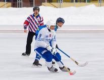 Shamsutov Rinat(wite) and Johan Esplund(blue) Stock Image