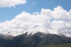 shan ουρανός βουνών tian Στοκ Εικόνα