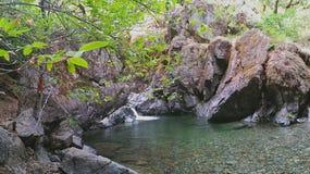 Shan Creek Falls Stock Image