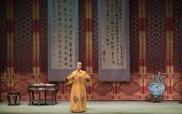 """Shan de Kangxi emperador-Shanxi Operatic""""Fu al  de Beijing†foto de archivo libre de regalías"""