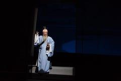 """Shan di Fu Shan-Shanxi Operatic""""Fu del taoista al  di Beijing†Fotografie Stock Libere da Diritti"""
