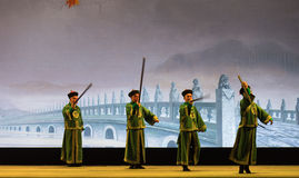 "Shan di huperetes-Shanxi Operatic""Fu al  di Beijing†Fotografie Stock"