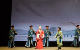 """Shan di seduta di pontificare-Shanxi Operatic""""Fu al  di Beijing†Immagine Stock Libera da Diritti"""